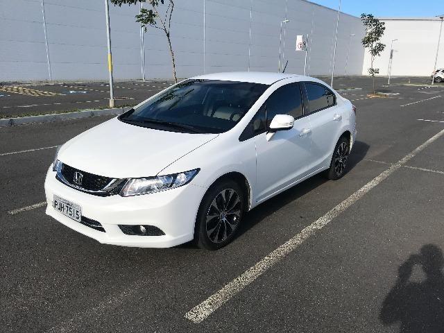 Honda Civic LXR 2.0 Automático 2016 Branco