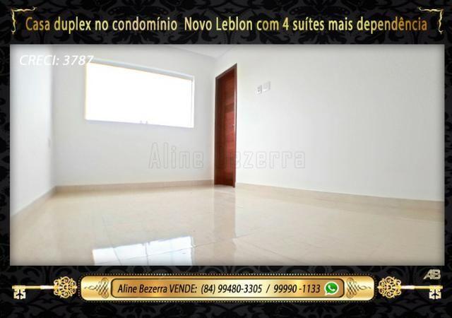 Duplex com 5 suítes no condomínio Novo Leblon, confira - Foto 15