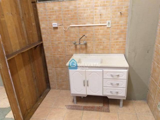 Apartamento com 1 dormitório para alugar, 120 m² por R$ 1.000/mês - Centro - Gravataí/RS - Foto 9