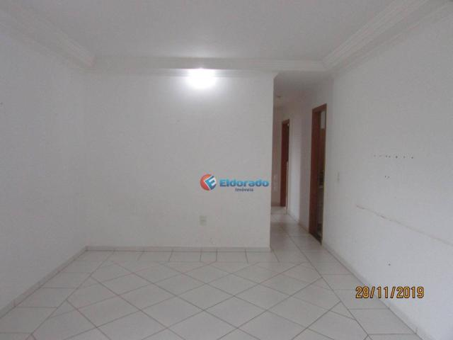 Apartamento com 3 dormitórios para alugar, 60 m² por r$ 1.100,00 - jardim são carlos - sum - Foto 3
