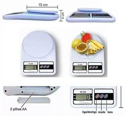 Balança Digital De Cozinha de 10kg - Foto 4