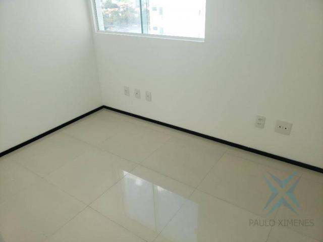 Apartamento novo com 3 dormitórios para alugar, 81 m² por r$ 1.700/mês - engenheiro lucian - Foto 13