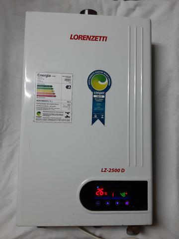 Aquecedor Lorenzetti a gaz agua quente semi novo