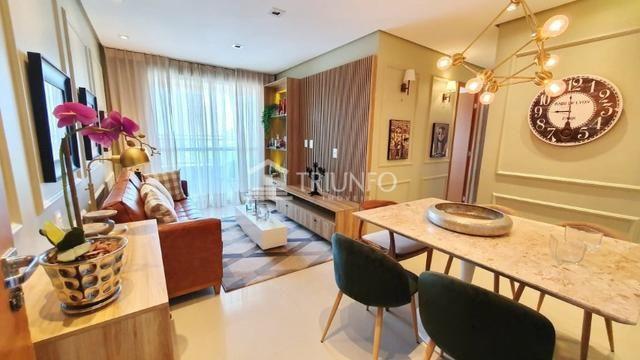 (EXR18528) Apartamento à venda no Luciano Cavalcante de 70m² com 3 quartos e 2 vagas