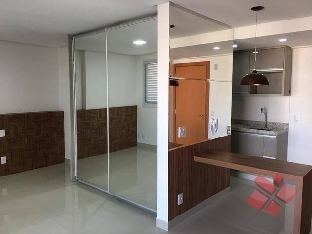 Apartamento com 1 Quarto para alugar no Setor Oeste em Goiânia/GO. - Foto 3