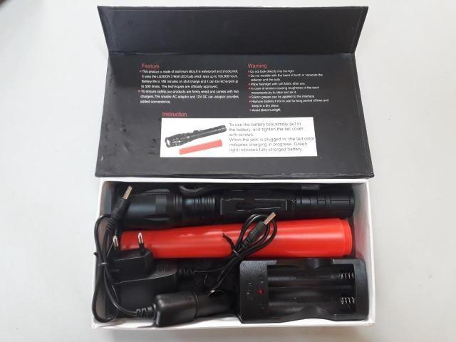 Lanterna Tática Swat 290000 Lumens com Led T6 o mais potente da Categoria - Foto 4