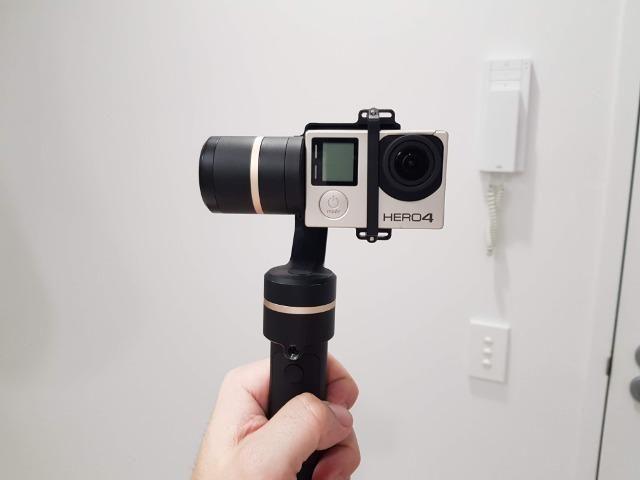 Estabilizador Feiyu G5 para GoPro - Gimbal - Foto 5