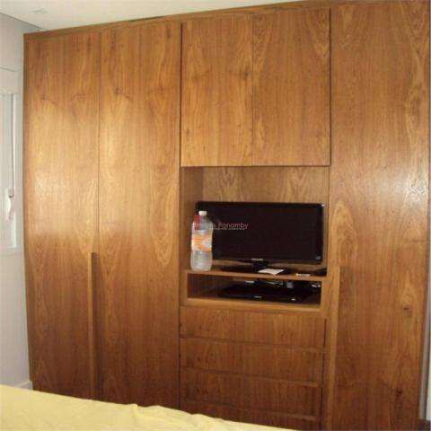 Apartamento com 1 dormitório para alugar, 51 m² por r$ 2.600/mês - campo belo - são paulo/ - Foto 6
