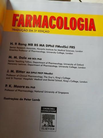 Livro de Farmacologia Rang e Dale - Foto 2