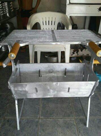 Churrasqueira 100%Alumínio