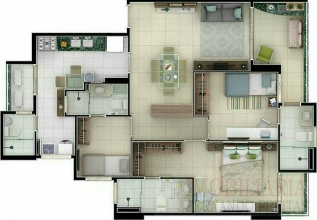 Apartamento três suítes, novo, alto padrão, preço de oportunidade. - Foto 16