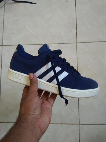 Tênis Adidas Grand Court Azul 38