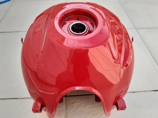 Tanque de combustível de moto