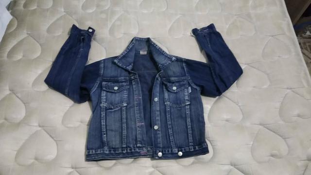 Jaqueta jeans feminina R$15,00