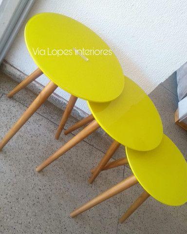 Mesa de 1.90 ctm com oito cadeiras area estofadas aqui no Via Lopes wpp 62 9  * - Foto 6