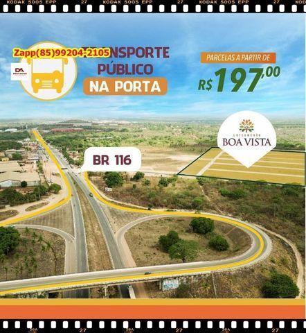 Lotes em Itaitinga, as margens da BR 116*!!
