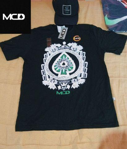 Camisas masculinas algodão fio 30.1 - Foto 3