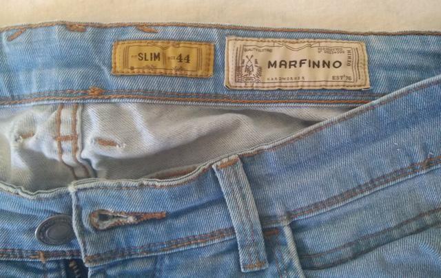 Calça Jeans Marfino 44 - Foto 4