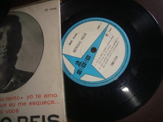 Sergio Reis, Lote com 2 compactos Vinil, Jovem Guarda - Foto 6
