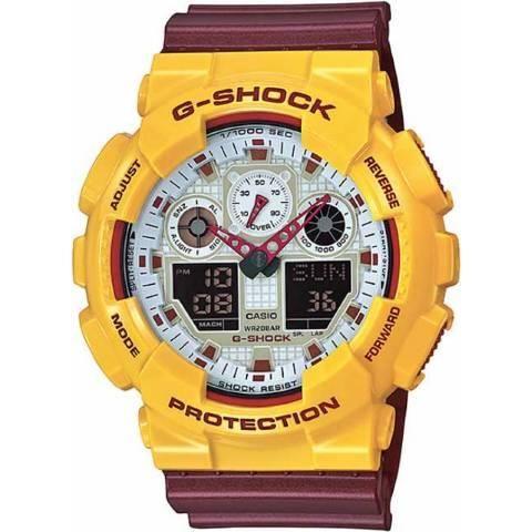 Relógio G Shock GA-100CS-9