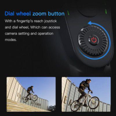 Gimbal estabilizador bluetooth com foco Zoom para telefone - Foto 2