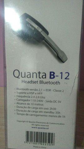 Quanta B12 Headset Bluetooth - Foto 4