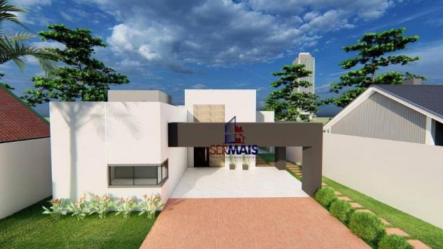 Casa com 3 dormitórios à venda, 181 m² por R$ 740.000,00 - Nova Brasília - Ji-Paraná/RO - Foto 3