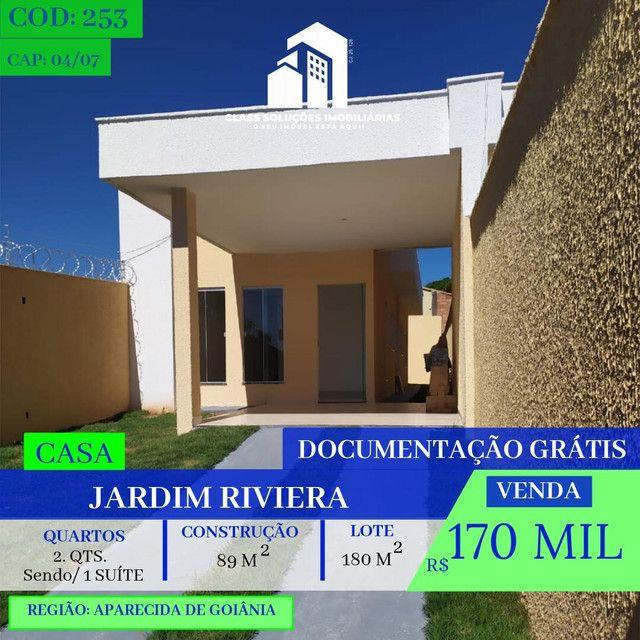 Casa De 2 Quartos - Jardim Riviera - Aparecida de Goiânia
