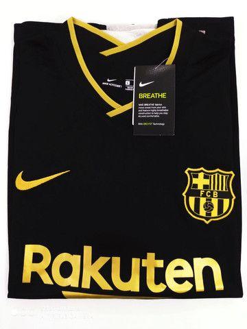 Camisa Barcelona Away Nike 20/21 - Tamanhos: P, M, G - Foto 3
