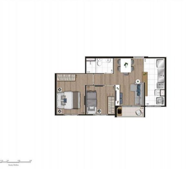 Apartamento no Tatuapé 42 m², e 44 m² - Foto 15