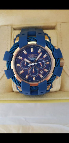 Vendo relógio invicta bolt com caixinha cartão de garantia  - Foto 2