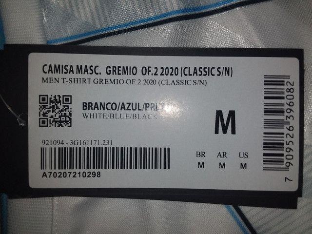Camisa do grêmio 20/21 - II - Branca - Foto 4