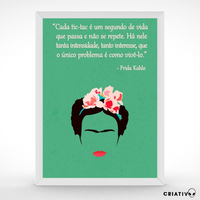Quadro- Frida Kahlo - Foto 3