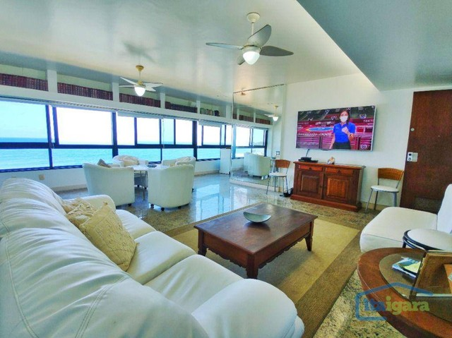 Apartamento com 4 dormitórios à venda, 189 m² por R$ 1.500.000,00 - Ondina - Salvador/BA - Foto 14