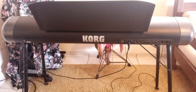 Piano Korg Sv1-73 bk - Foto 4