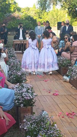 Vestidos de daminhas - Foto 4