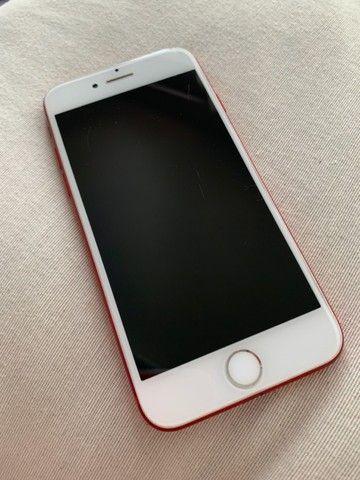 iPhone 7 128GB vermelho - Foto 2