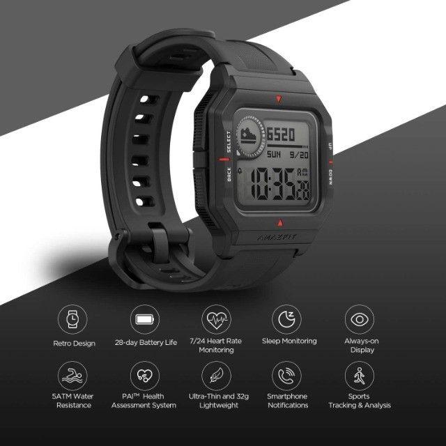 Smartwatch Amazfit Neo Relógio Inteligente Bluetooth - Versão Global - Foto 6