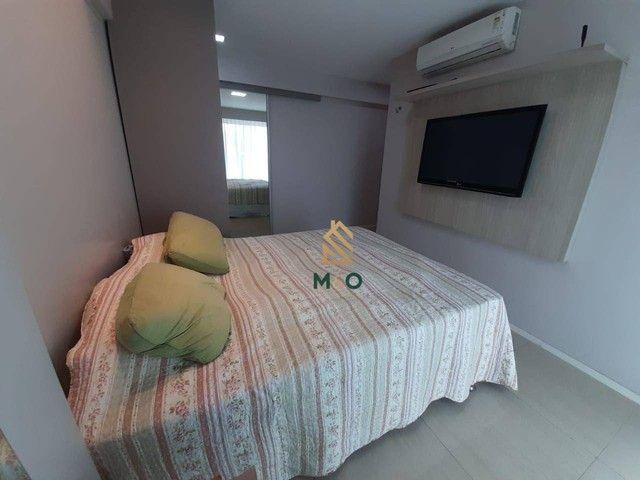 Apartamento com 3 dormitórios à venda, 73 m² por R$ 420.000,00 - Cambeba - Fortaleza/CE - Foto 4