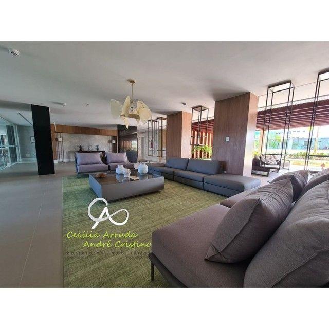 apartamento 4/4 suítes, varanda gourmet, vista livre permanente, Jardins, Aracaju/SE - Foto 9