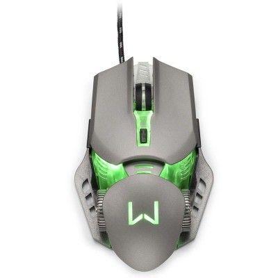 Super Mouse Gamer Mecanico Multilaser warrior keon mo268 top de linha