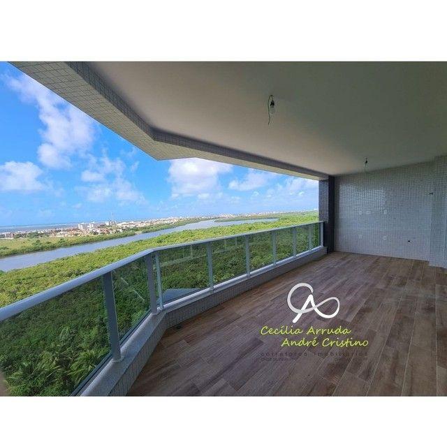 apartamento 4/4 suítes, varanda gourmet, vista livre permanente, Jardins, Aracaju/SE - Foto 2