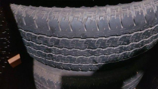 Jg Roda Hilux Aro 16 6x139 + Pneu 265/70 R16 Bridgestone,  semi novo - Foto 4