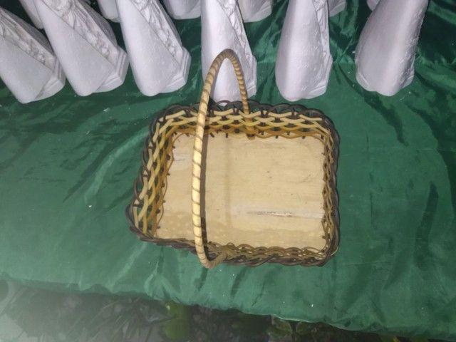 Vendo cestas de Vimi todas lindas diferenciadas - Foto 2