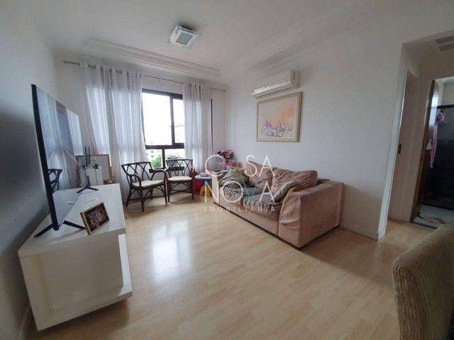 Apartamento com 2 dormitórios à venda, 90 m² por R$ 500.000,00 - Boqueirão - Santos/SP