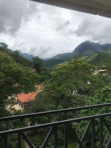Cenário de Monet 2 Quartos 1 Vaga Piscina Andar Alto em Correas Petrópolis RJ - Foto 7