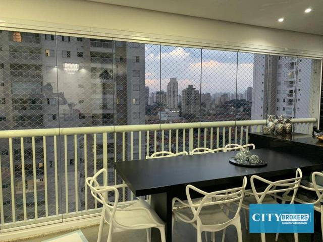 Apartamento com 3 dormitórios à venda, 107 m² por R$ 1.080.000 - Tatuapé - São Paulo/SP - Foto 9