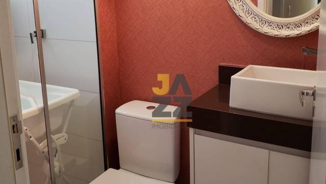 Lindo apartamento com 2 dormitórios e closet à venda, 73 m² por R$ 450.000 - Vila Brasil - - Foto 11
