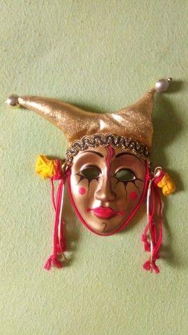 Coleção de mascaras Italianas em porcelana; - Foto 4