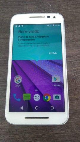 Smartphone Moto G? (3ª Geração) Colors 16GB XT-1543 - Branco - Foto 2